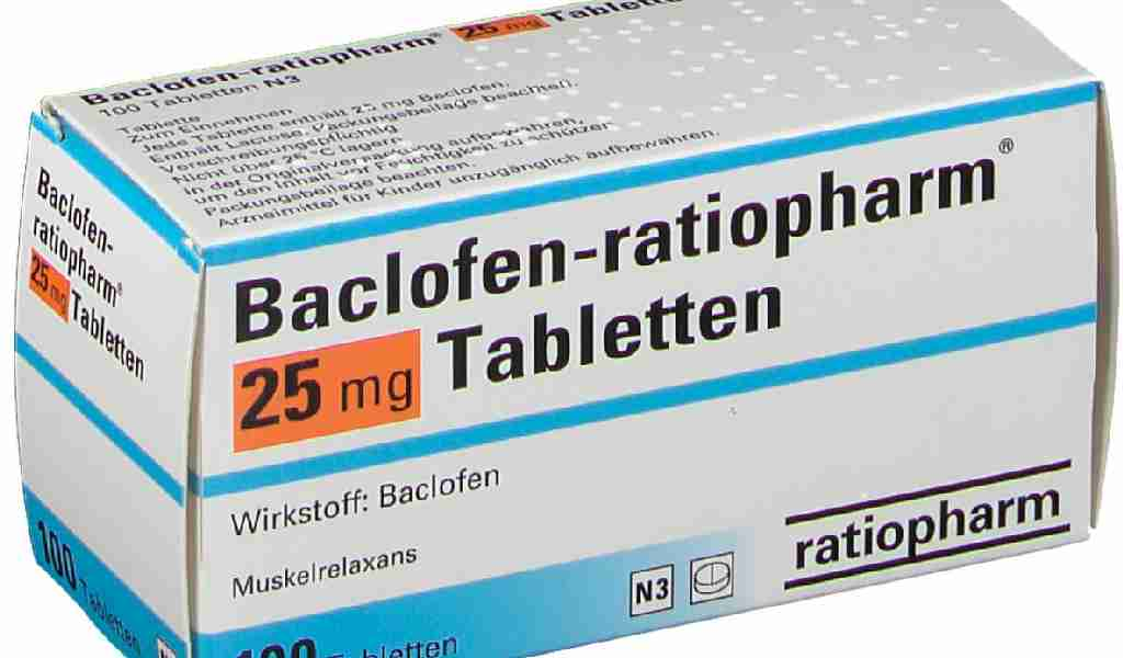 Баклофен - симптомы приема