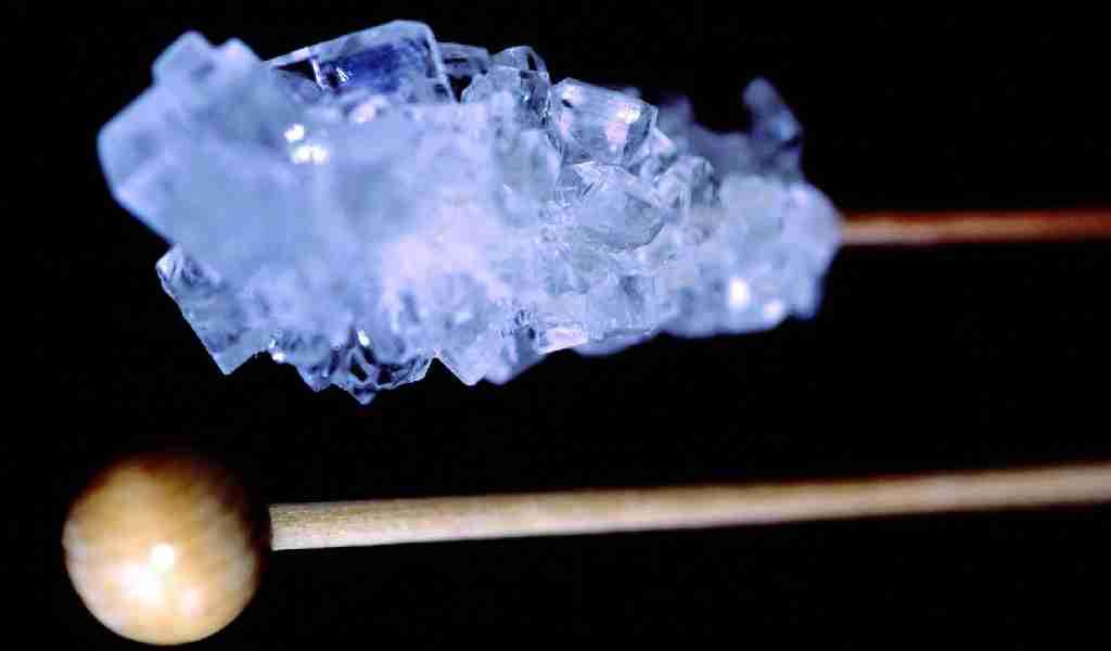 Кристалл (лёд) - разновидность метамфетамина